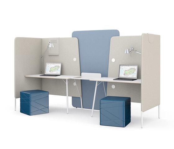 m.zone team by Wiesner-Hager | Desks