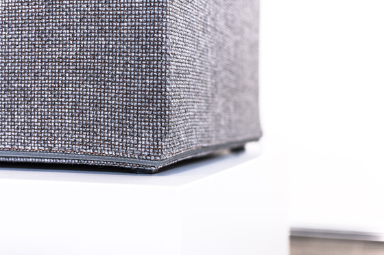 Acoustic seating cube by AOS | Poufs