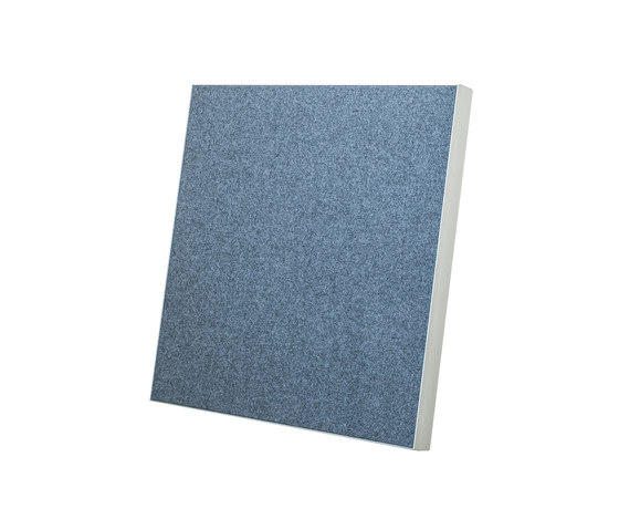 Wall Absorber 55/40 with circumferential cover or fabric-covered inner edge by AOS | Sound absorbing wall systems