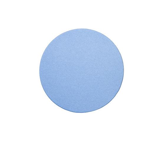 Wall absorber 50/65 round uni, frameless de AOS | Tableaux acoustiques décoratifs