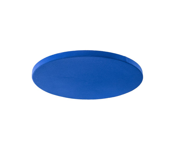 Ceiling absorber 50 for direct mounting, round  frameless de AOS   Objets acoustiques