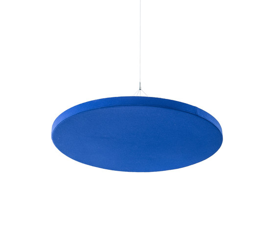 Ceiling absorber 50 for suspension, round frameless by AOS   Sound absorbing objects