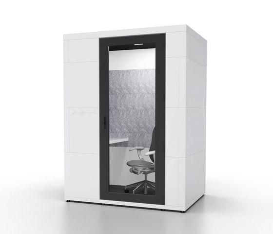 working booths | focus + de STUDIOBRICKS | Cabinas de oficina