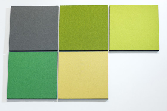 Acoustic tiles PUR12 by AOS | Sound absorbing objects