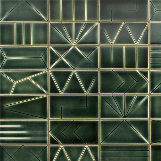InLine A, B, C, D, E, F, G, H, I, J, K,L by Pratt & Larson Ceramics | Ceramic tiles
