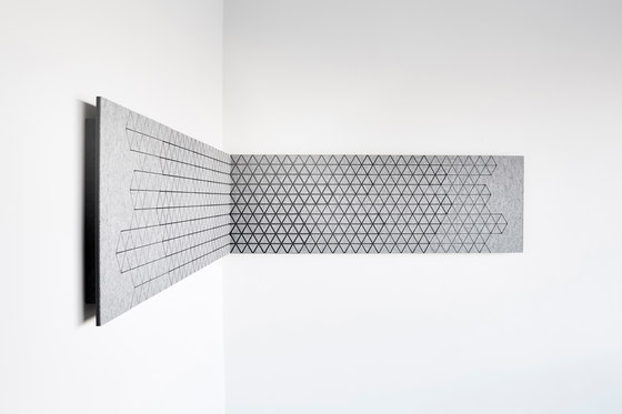 Outline + by CABS DESIGN | Sound absorbing wall systems