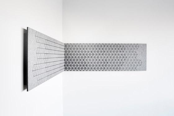 Outline + di CABS DESIGN | Sistemi assorbimento acustico parete