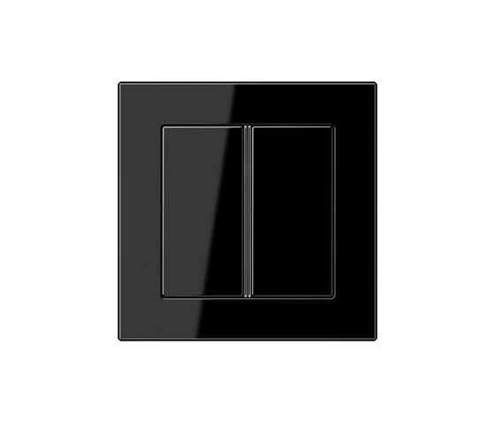 A Creation   F40 push button black by JUNG   Push-button switches