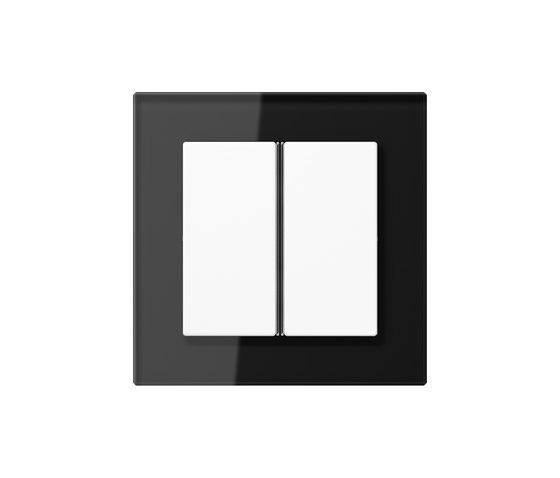 A Creation F40 push button black glass di JUNG | interuttori pulsante