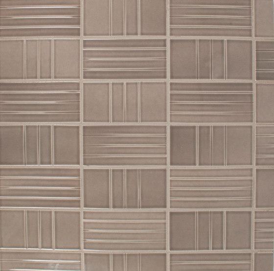 InLine F and InLine L von Pratt & Larson Ceramics | Keramik Fliesen