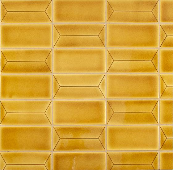 InLine H and Field Tile von Pratt & Larson Ceramics | Keramik Fliesen