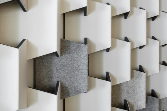 Scale Felt by CABS DESIGN | Sound absorbing wall systems