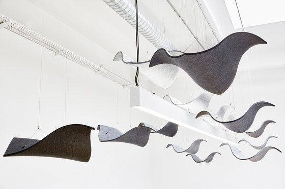 Wing by CABS DESIGN | Sound absorbing ceiling systems