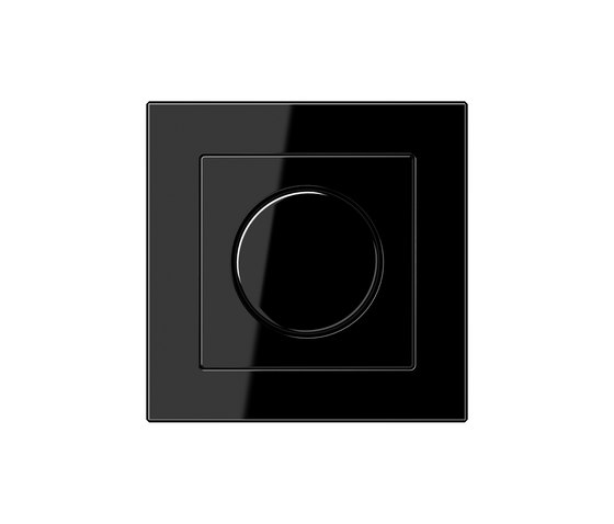 A Creation | rotary dimmer black by JUNG | Rotary switches