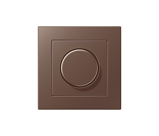 A Creation | rotary dimmer mocha by JUNG | Rotary switches