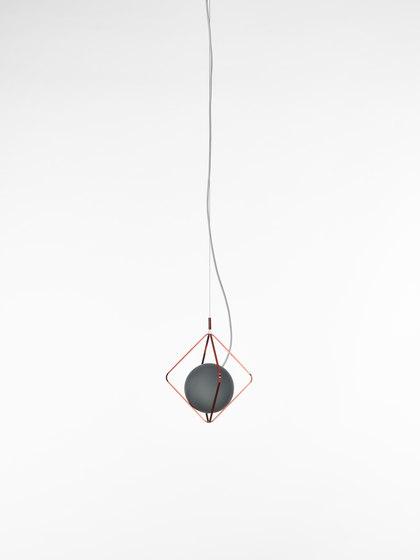 Jack O'Lantern Small Single Pendent Sphere PC1095 de Brokis   Lámparas de suspensión