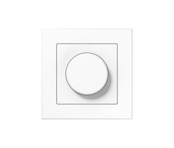 A Creation | rotary dimmer white by JUNG | Rotary switches