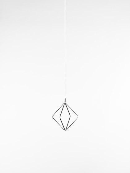Jack O'Lantern Small Single Pendent Frame PC1101 von Brokis | Pendelleuchten
