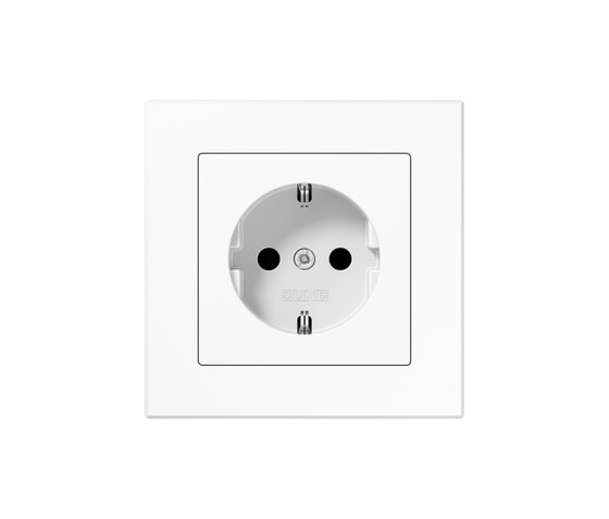 A Creation | socket white by JUNG | Schuko sockets