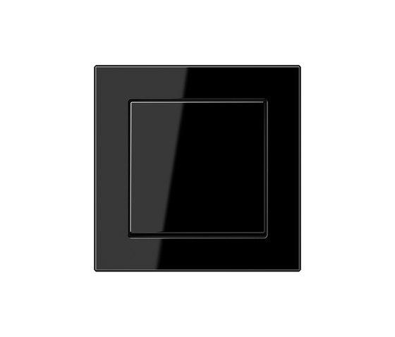 A Creation switch black di JUNG | Interruttore bilanciere