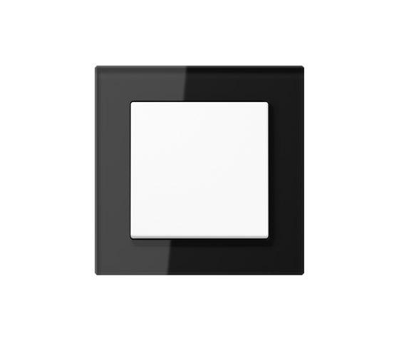 A Creation switch black glass di JUNG | Interruttore bilanciere