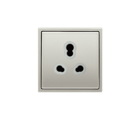 LS 990 | Indian Standard socket stainless steel by JUNG | Sockets