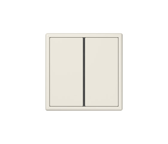 LS 990 | F40 push button ivory by JUNG | Push-button switches