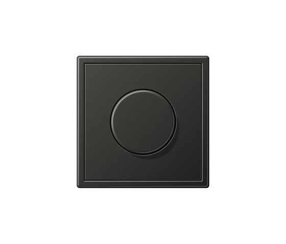 LS 990 | rotary dimmer anthracite by JUNG | Rotary switches