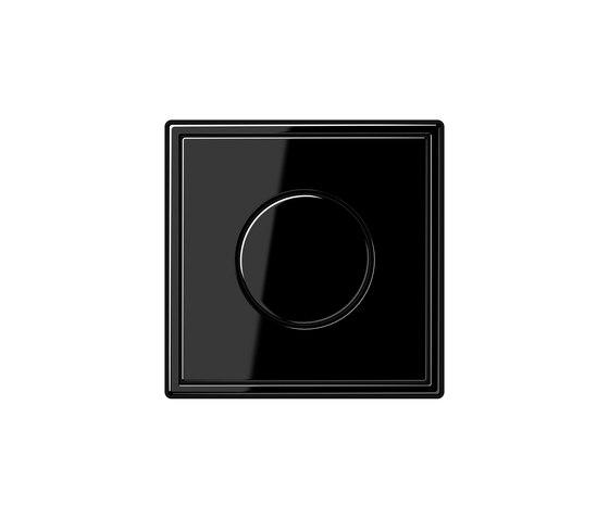 LS 990 rotary dimmer black di JUNG | Interruttori manopola