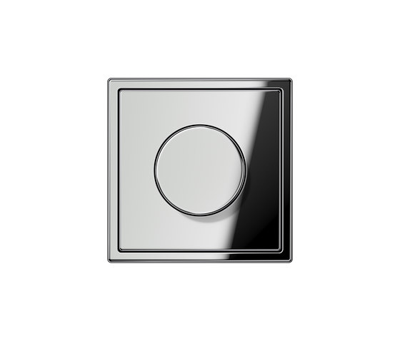LS 990 | rotary dimmer chrome by JUNG | Rotary switches