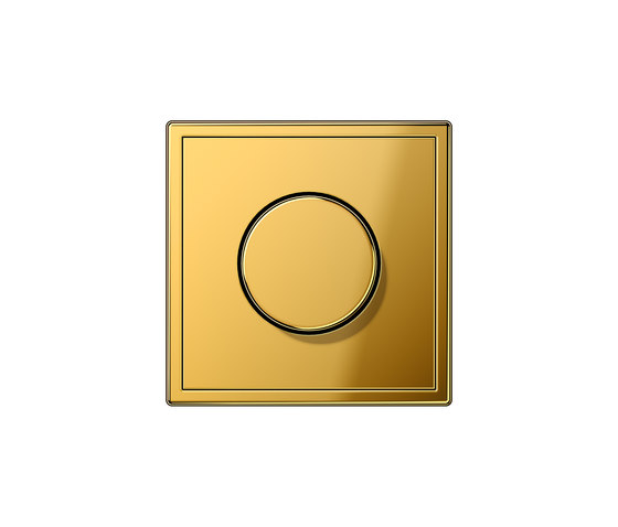 LS 990 | rotary dimmer gold by JUNG | Rotary switches