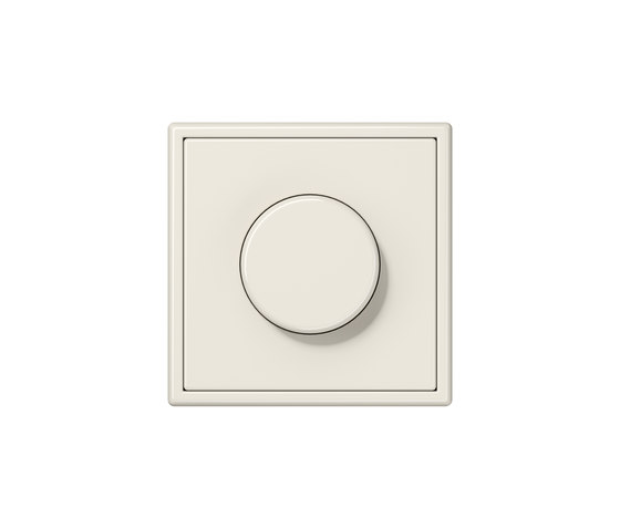 LS 990 | rotary dimmer ivory by JUNG | Rotary switches