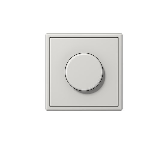 LS 990 | rotary dimmer light grey by JUNG | Rotary switches
