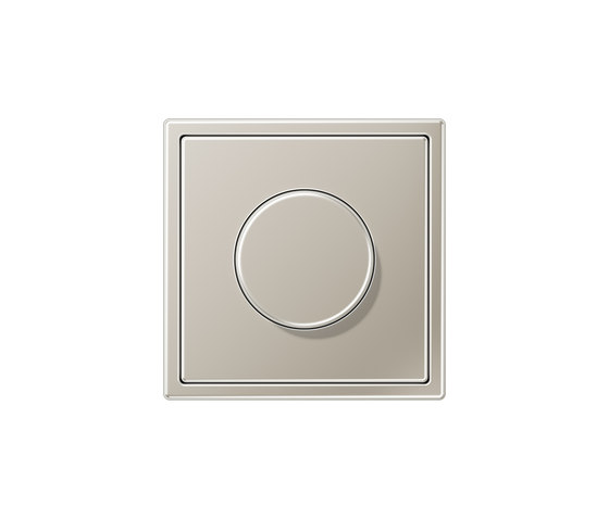 LS 990 | rotary dimmer stainless steel by JUNG | Rotary switches