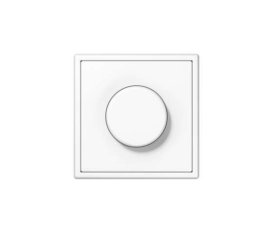LS 990 | rotary dimmer white by JUNG | Rotary switches