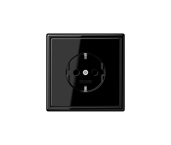 LS 990 | socket black by JUNG | Schuko sockets