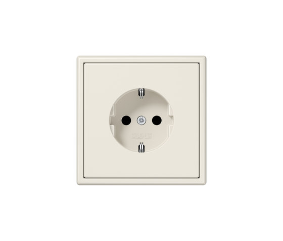 LS 990 | socket ivory by JUNG | Schuko sockets