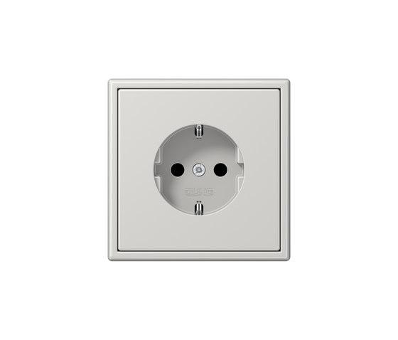 LS 990 | socket light grey by JUNG | Schuko sockets