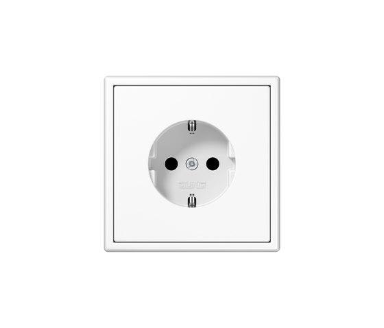 LS 990 | socket white by JUNG | Schuko sockets