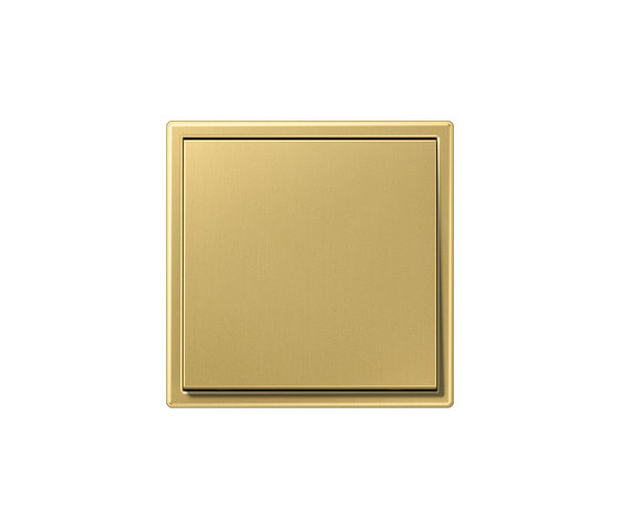 LS 990 switch classic brass by JUNG | Two-way switches