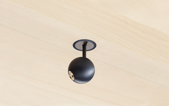 Mounting Ring 28 for Wood by GEORG BECHTER LICHT | Recessed ceiling lights