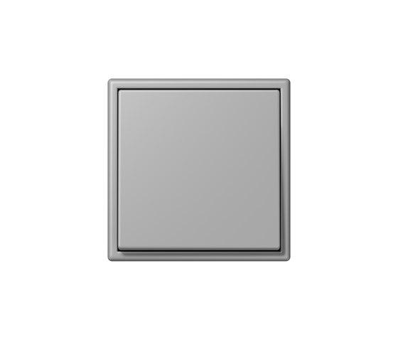 LS 990 in Les Couleurs® Le Corbusier   Schalter 32012 gris moyen by JUNG   Two-way switches