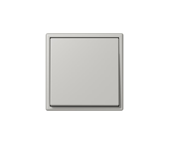 LS 990 in Les Couleurs® Le Corbusier | Schalter 32013 gris clair 31 by JUNG | Two-way switches
