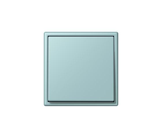 LS 990 in Les Couleurs® Le Corbusier | Schalter 32033 céruléen clair by JUNG | Two-way switches