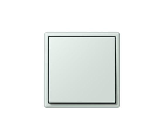 LS 990 in Les Couleurs® Le Corbusier | Schalter 32034 céruléen pâle by JUNG | Two-way switches