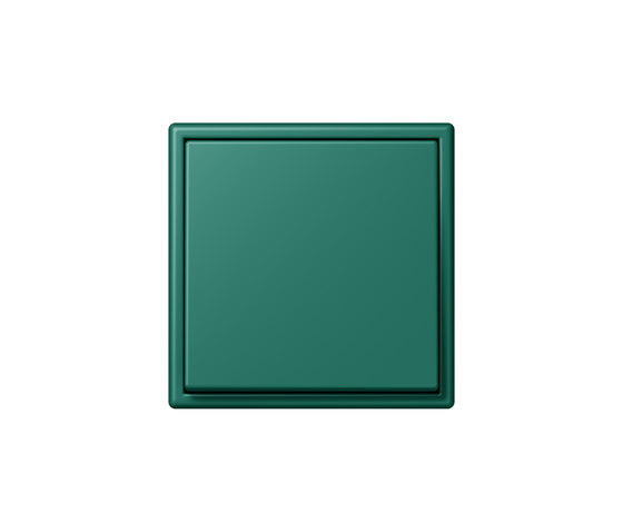 LS 990 in Les Couleurs® Le Corbusier | Schalter 32040 vert anglais by JUNG | Two-way switches