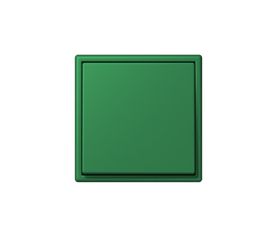 LS 990 in Les Couleurs® Le Corbusier | Schalter 32050 vert foncé by JUNG | Two-way switches