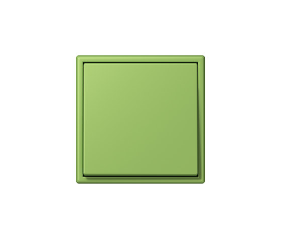 LS 990 in Les Couleurs® Le Corbusier | Schalter 32051 vert 31 by JUNG | Two-way switches