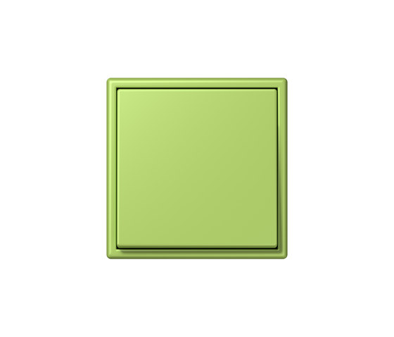 LS 990 in Les Couleurs® Le Corbusier | Schalter 32052 vert clair by JUNG | Two-way switches
