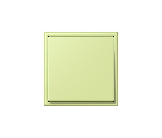 LS 990 in Les Couleurs® Le Corbusier | Schalter 32053 vert jaune clair by JUNG | Two-way switches